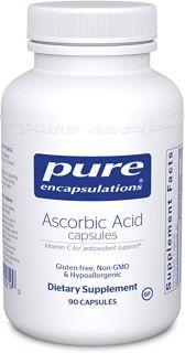 Ascorbic Acid Capsules | 90 Capsules