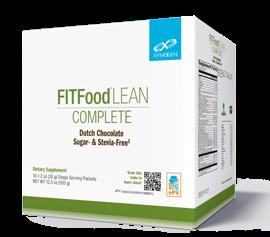 FIT Food® Lean Complete Dutch Chocolate Sugar- & Stevia-Free 10 Servings