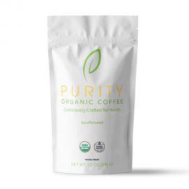 Purity Organic Coffee - Decaffeinated Whole Bean Coffee (12 oz)