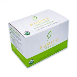 Purity Organic Coffee - Decaffeinated Coffee Pods (12 ct.)